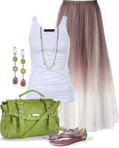 I love the skirt!!