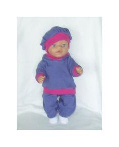 Aud,s dukkeklær til dukke cm Aud, Tricot