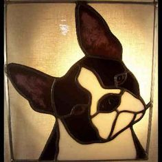Handmade stained glass suncatcher portrait of a Dachshund dog. Measures 9 X inches and comes with an attached chain for hanging. Faux Stained Glass, Stained Glass Projects, Fused Glass Art, Stained Glass Patterns, Glass Wall Art, Mosaic Glass, Tiffany Kunst, Glass Art Pictures, Intarsia Patterns