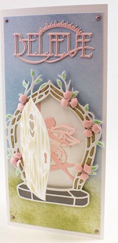 New Tonic Studios Rococo Fairy dies now in stock at Crafts U Love… Unique Cards, Creative Cards, Card Making Inspiration, Making Ideas, Crafts To Do, Paper Crafts, Tonic Cards, Tattered Lace Cards, Studio Cards