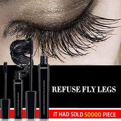 Shop Today>>Hot Selling QIBEST Waterproof Fiber Eyelash Mascara - Beauty: Make up, Anti Aging - Schönheit Beauty Make-up, Beauty Skin, Beauty Hacks, Makeup Tips, Eye Makeup, Makeup Videos, Makeup Products, Hair Makeup, Magnetic Eyelashes