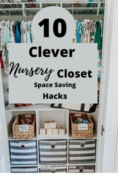 Organize Your Nursery With Clever Tips and Hacks Nursery Storage, Nursery Organization, Organization Hacks, Cheap Home Decor, Diy Home Decor, Room Decor, Space Saving Hangers, Book Racks, Baby Boy Rooms