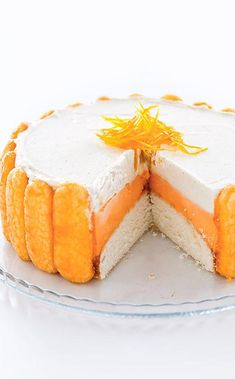 We transform an ice cream truck treat into a special occasion ice cream cake. Frozen Desserts, Frozen Treats, Just Desserts, Creamsicle Cake, Orange Creamsicle, Sherbet Ice Cream, Cake Recipes, Dessert Recipes, American Cake