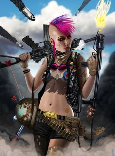TANK GIRL by RobShields on deviantART