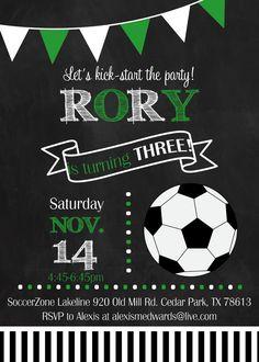 soccer ball birthday invite https://www.etsy.com/shop/ForeverYourPrints