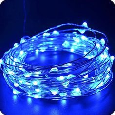 Hiyill String Lights 120 LEDs Outdoor/Indoor Starry String Lights,Waterproof Fairy String Lights Copper Wire Ambiance Lighting for Landscape Gardens Homes Christmas Party (Warm White) -- Awesome products selected by Anna Churchill