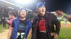 2 of my favorites at Cubs game