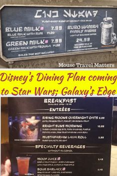 Can it be true is the Disney Dining Plan in Star Wars: Galaxy's Edge at Walt Disney World becoming a reality? Check out how to save big with the Disney Dining Plan while visiting Batuu! Disney World Secrets, Disney World Food, Disney World Planning, Walt Disney World Vacations, Disney World Tips And Tricks, Disney Tips, Disney World Resorts, Disney Parks, Disney Worlds