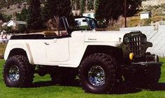 1950's willys overland jeepster - Google Search