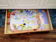 Can use as lego storage Train Trundle - PureBond Plywood