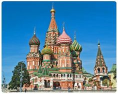 Mosca e i suoi monumenti