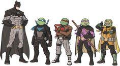 Teenage Mutant Robin Turtles - Serg Shamaev