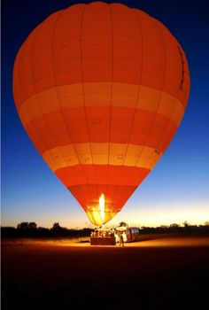 Have been on a hot Air Balloon Ride in the Australian Outback - fantastic and freezing (it was winter)