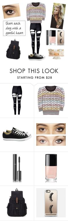 """""""Spring #6"""" by peterkonijn on Polyvore featuring mode, WithChic, Marc Jacobs, Converse, Charlotte Tilbury, Chanel en Casetify"""