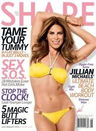 Jillian Michaels on the cover of Shape Magazine