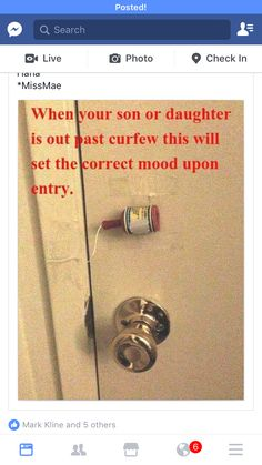 983617a2c5 Prank on kid past curfew Parenting Done Right, Parenting Advice, Parenting  Quotes, Parenting