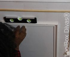How to Install Picture Frame Moulding Wainscoting - ToolBox Divas Installing Wainscoting, Beadboard Wainscoting, Wainscoting Nursery, Dining Room Wainscoting, Wainscoting Panels, Wainscoting Ideas, Picture Frame Molding, Picture Frames, Stair Paneling