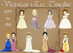 Victorian Era [Fashion] Timeline