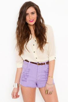 really want to rock high waisted shorts this summer. just need the legs for them....