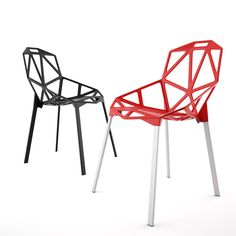 Here's a new FREE 3D model – The iconic One Chair by Magis, modeled just for you guys. Have fun with this One! http://dimensiva.com/one-chair-by-magis/