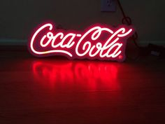Coca Cola Neon Sign Beer Bar Pub Light New Coca Cola Soda LED Light Box   eBay
