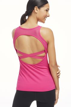 Get ready for the 2016 Race for the Cure with this perfectly pink workout top from Fabletics. #susangkomenutah