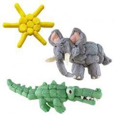 PlayMais - Bilder, Figuren, 3D-Bauten - mit diesem Vorteilspack sind der Kreativität keine Grenzen gesetzt. #Elefanten #Krokodile #Backwinkel