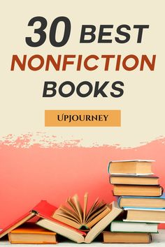 Looking for the best nonfiction books to read that are actually worth reading? How about non fiction books based on true stories? UpJourney's 30 best non fiction books, as recommended by experts, are a MUST read both for men and for women. Best Books For Men, Books To Read In Your 20s, Books To Read For Women, Best Books To Read, Good Books, Best Non Fiction Books, Fiction And Nonfiction, Readers Notebook, Relationship Books