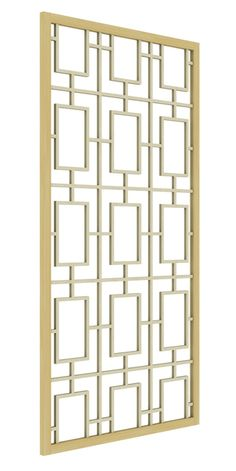 Set your project apart with decorative panel designs from The Millwork Market. Our designs are handcrafted and designed for both commercial and residential spaces, and custom options are available. Window Grill Design Modern, Balcony Grill Design, Grill Door Design, Window Design, Decorative Metal Screen, Decorative Panels, Gate Wall Design, Wooden Front Door Design, Hallway Designs