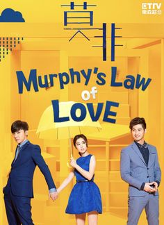 Murphy's Law of Love -Taiwanese drama. Not the best drama. but good enough to keep me interested.
