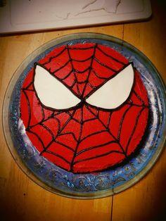 Spiderman Easy Cake. Torta Spiderman Facil... hombre araña. Pastel