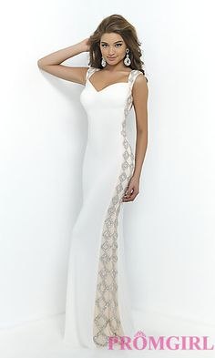 Blush Elegant Open Back Prom Gown BL-9924 at PromGirl.com