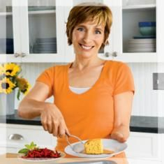 This week it's Beyond Just Good Cornbread from Rebecca Katz, author of Cancer Fighting Kitchen. Her informative and whole food recipes for caregivers and those also surviving cancer ensures that all recipes have her FASS criteria (Fat, Acid, Sweet and Salt). This ensures that taste buds awaken and experience food again!