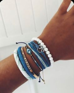 Beach Bracelets, Pura Vida Bracelets, Summer Bracelets, Cute Bracelets, Summer Jewelry, Bracelets For Men, Gold Bracelets, Beach Jewelry, Handmade Bracelets