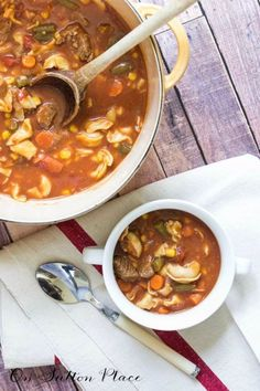 Sunday Supper Ideas: 2 Hearty Soup Recipes | Chicken Noodle Soup & Vegetable Soup | Nothing says comfort food more than a hearty bowl of soup. The problem is that in today's world, few of us have time to simmer a pot of soup on the stove all day. The two soup recipes featured in this guide are quick, easy and most importantly, they taste amazing. There is minimal chopping and the ingredients are budget-friendly. Perfect for Sunday Supper or a quick week night meal. #Sponsored