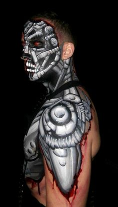 robot body paint - Google Search