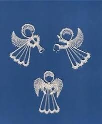 Risultati immagini per Aase Nilsson vánoce anděl Bobbin Lace Patterns, Crochet Patterns, Bobbin Lacemaking, Needle Tatting, Lace Heart, Lace Jewelry, Lace Making, Up Girl, Lace Design