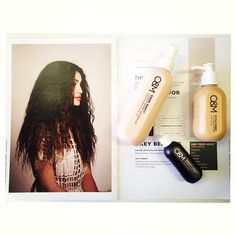 Ladies are you looking to keep your curly locks in check? Try out our 3 Step Style for curly hair: 1. Drench hair in Know Knott Conditioning...