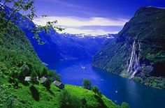 Norway fjords between Oslo and Bergen, don't know if we could afford that again in our lifetime.