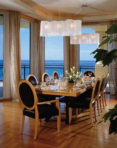 Sophisticated dining.