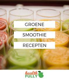 Groene Smoothies zijn hip & supergezond! Daarom hebben wij de lekkerste Groene Smoothie recepten voor jou op een rijtje gezet.