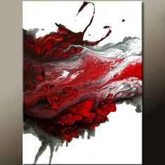FORGIVEN - newAbstract Modern Art Painting 18x24 Original by wostudios on Etsy, $69.00