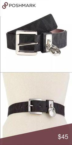 New Michael Kors Women Black Belt Michael Kors Women Belt Color: Black  Size: S M L XL Michael Kors Accessories Belts