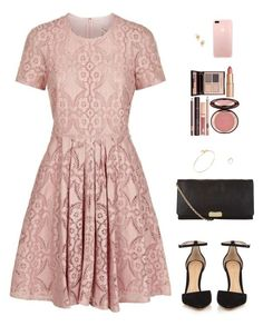 """""""Sin título #4234"""" by mdmsb on Polyvore featuring moda, Burberry, Gianvito Rossi, Tiffany & Co. y Charlotte Tilbury"""