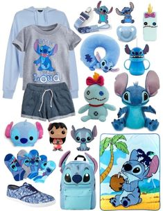 Stitch Little Space Themed Outfit (no one requested it but I love stitch and felt like this needed to be done) 💙 Disney Stitch, Lilo Ve Stitch, Lilo And Stitch Quotes, Lelo And Stitch, Cute Disney Outfits, Disney Themed Outfits, Peluche Stitch, Ddlg Outfits, Ddlg Little