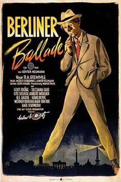 """The Berliner (1948) """"Berliner Ballade"""" (original title) Stars: Gert Fröbe, Tatjana Sais, Ute Sielisch ~ Director: Robert A. Stemmle (Nominated for a BAFTA Film Award for Best Film; Won an  International Award & Nominated for a  Golden Lion Award at the Venice Film Festival 1949)"""
