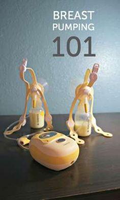 Breast pumping 101 (