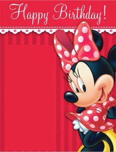 62 Trendy Party Invitations Kids Printable Minnie Mouse 62 Trendy Party Invitations Kids Printable M Minnie Mouse Birthday Decorations, Minnie Birthday, Minnie Mouse Party, Mouse Parties, Birthday Greetings, Birthday Wishes, Free Invitation Templates, Party Invitations Kids, Happy 1st Birthdays