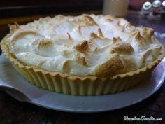 Receta de Lemon Pie o Tarta de Limón con merengue