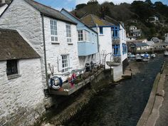 Polperro is one of the prettiest and most famous villages in Cornwall. I want to go here! Polperro Cornwall, Great Britan, Cornwall England, Beautiful Places, To Go
